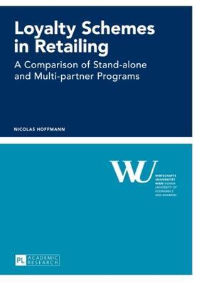Hoffmann   Loyalty Schemes in Retailing   Buch   sack.de
