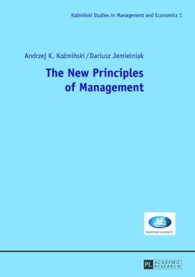 Kozminski / Jemielniak | The New Principles of Management | Buch | sack.de