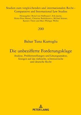 Kurtoglu | Die unbezifferte Forderungsklage | Buch | sack.de