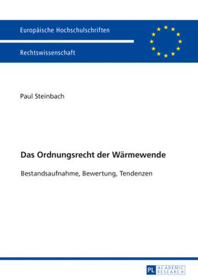 Steinbach | Das Ordnungsrecht der Wärmewende | Buch | sack.de