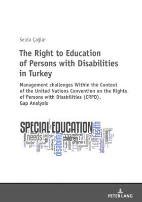 Çaglar | The Right to Education of Persons with Disabilities in Turkey | Buch | sack.de