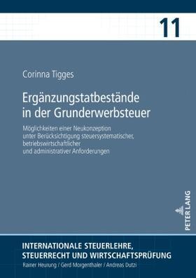 Tigges   Ergänzungstatbestände in der Grunderwerbsteuer   Buch   sack.de