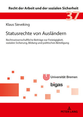 Sieveking | Statusrechte von Ausländern | Buch | sack.de