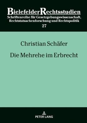 Schäfer | Die Mehrehe im Erbrecht | Buch | sack.de