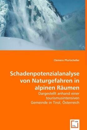 Pfurtscheller   Schadenpotenzialanalyse von Naturgefahren in alpinen Räumen   Buch   sack.de