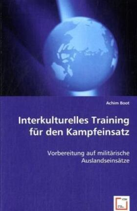 Boot | Interkulturelles Training für den Kampfeinsatz | Buch | sack.de