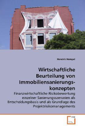 Hempel | Wirtschaftliche Beurteilung vonImmobiliensanierungskonzepten | Buch | sack.de