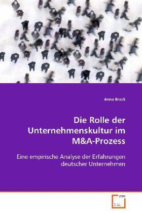 Brack   Die Rolle der Unternehmenskultur im M   Buch   sack.de