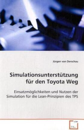 Derschau | Simulationsunterstützung für den Toyota Weg | Buch | sack.de