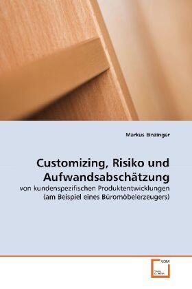 Customizing, Risiko und Aufwandsabschätzung | Buch | sack.de