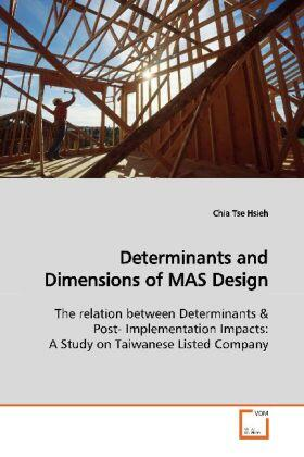 Determinants and Dimensions of MAS Design | Buch | sack.de