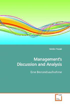 Management's Discussion and Analysis | Buch | sack.de