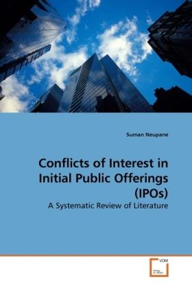 Conflicts of Interest in Initial Public Offerings (IPOs) | Buch | sack.de