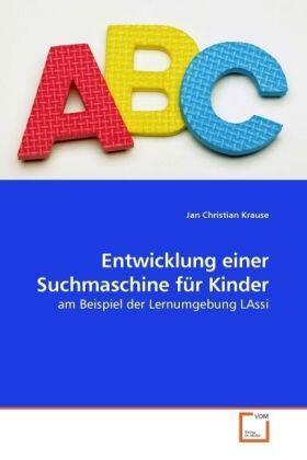 Krause   Entwicklung einer Suchmaschine für Kinder   Buch   sack.de