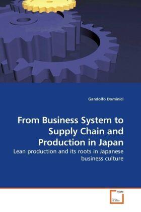 Dominici | From Business System to Supply Chain and Production in Japan | Buch | sack.de