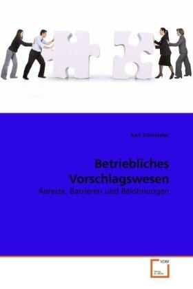 Betriebliches Vorschlagswesen | Buch | sack.de