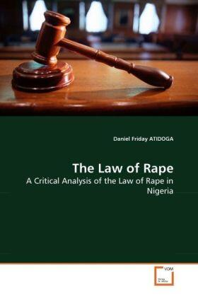The Law of Rape | Buch | sack.de