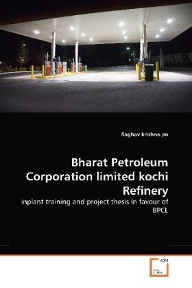 Krishna   Bharat Petroleum Corporation limited kochi Refinery   Buch   sack.de