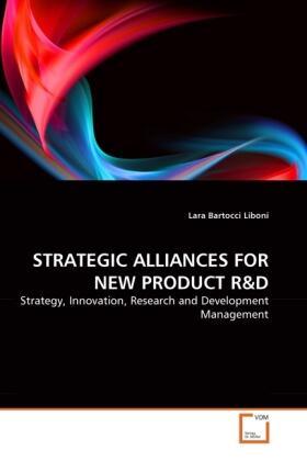STRATEGIC ALLIANCES FOR NEW PRODUCT R&D | Buch | sack.de