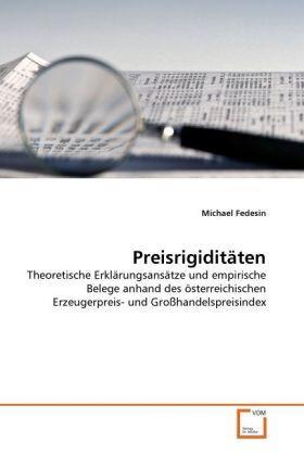 Fedesin | Preisrigiditäten | Buch | sack.de