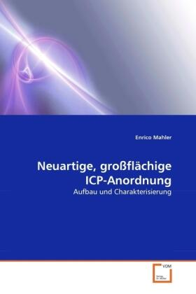 Mahler   Neuartige, großflächige ICP-Anordnung   Buch   sack.de