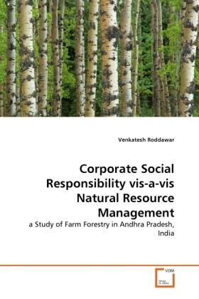 Roddawar   Corporate Social Responsibility vis-a-vis Natural Resource Management   Buch   sack.de