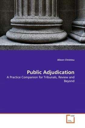 Public Adjudication | Buch | sack.de