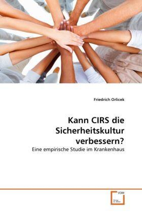 Kann CIRS die Sicherheitskultur verbessern? | Buch | sack.de