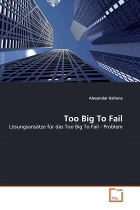 Too Big To Fail | Buch | sack.de