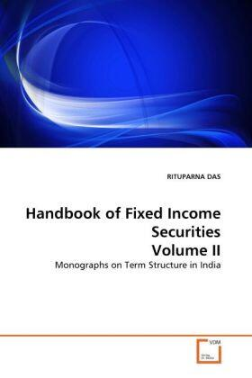 Das | Handbook of Fixed Income Securities Volume II | Buch | sack.de