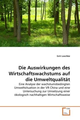 Die Auswirkungen des Wirtschaftswachstums auf die Umweltqualität | Buch | sack.de