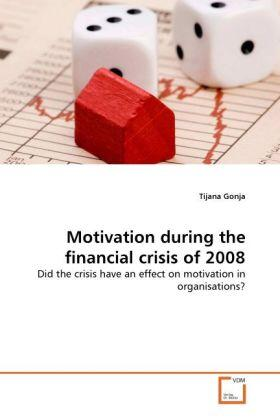 Gonja | Motivation during the financial crisis of 2008 | Buch | sack.de