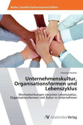 Unternehmenskultur, Organisationsformen und Lebenszyklus | Buch | sack.de