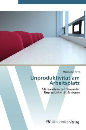 Krasteva | Unproduktivität am Arbeitsplatz | Buch | sack.de