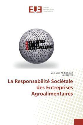 Abdirahman / Sauvée | La Responsabilité Sociétale des Entreprises Agroalimentaires | Buch | sack.de