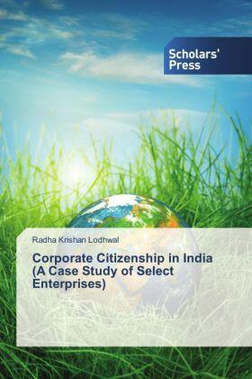 Lodhwal | Corporate Citizenship in India (A Case Study of Select Enterprises) | Buch | sack.de