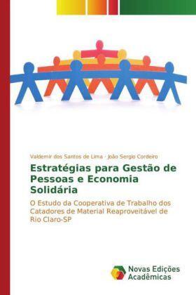 dos Santos de Lima / Sergio Cordeiro   Estratégias para Gestão de Pessoas e Economia Solidária   Buch   sack.de