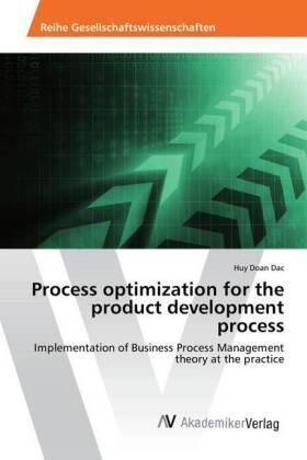 Doan Dac | Process optimization for the product development process | Buch | sack.de