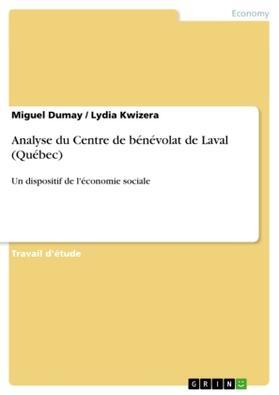 Analyse du Centre de bénévolat de Laval (Québec) | Buch | sack.de