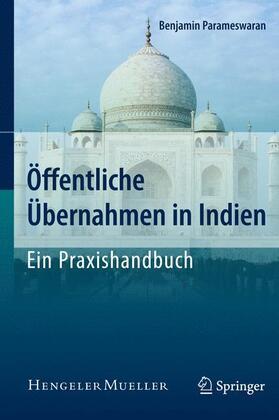 Parameswaran | Öffentliche Übernahmen in Indien | Buch | sack.de