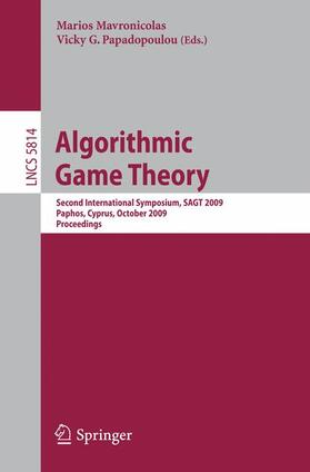Mavronicolas / Papadoupoulou | Algorithmic Game Theory | Buch | sack.de