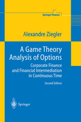Ziegler | A Game Theory Analysis of Options | Buch | sack.de