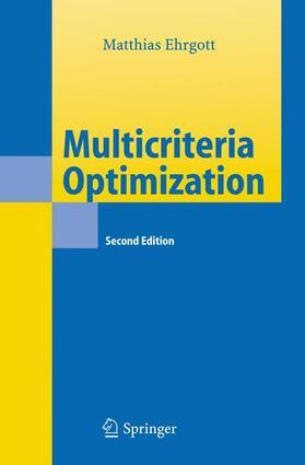 Ehrgott   Multicriteria Optimization   Buch   sack.de