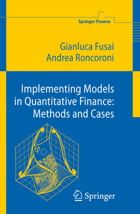 Roncoroni / Fusai | Implementing Models in Quantitative Finance: Methods and Cases | Buch | sack.de
