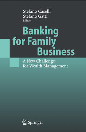 Caselli / Gatti | Banking for Family Business | Buch | sack.de