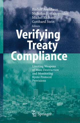 Avenhaus / Kyriakopoulos / Richard | Verifying Treaty Compliance | Buch | sack.de