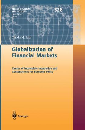 Buch   Globalization of Financial Markets   Buch   sack.de