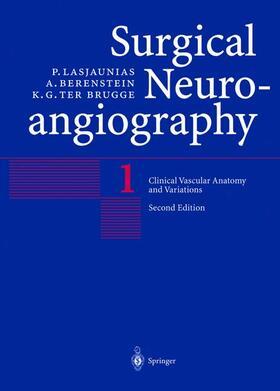 Lasjaunias / Berenstein / ter Brugge | Clinical Vascular Anatomy and Variations | Buch | sack.de