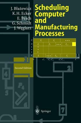 Blazewicz / Ecker / Pesch | Scheduling Computer and Manufacturing Processes | Buch
