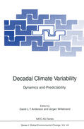 Willebrand / Anderson    Decadal Climate Variability   Buch    Sack Fachmedien